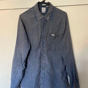 Volcom Large Button Down Shirt